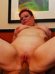 This Latina Grandma is ready to take a big dicking!