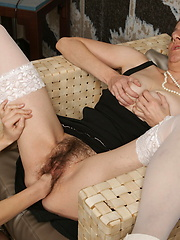 One lucky man on four cock-hungry moms