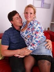 German housewife doing her boyfriend