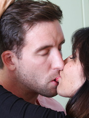 Hot British mILF fooling around with her lover