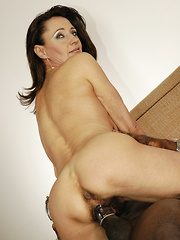 MILF with enormous, out of control bush, gets nailed!