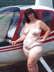 Flashing mature car and even helicopter drivers